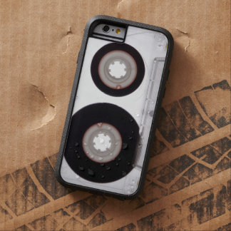 iPhone: Magnetic Tape Audio Cassette. Rugged Tough Xtreme iPhone 6 Case