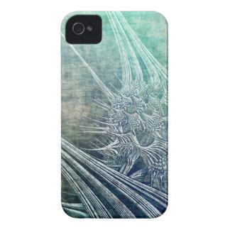 iPhone magnífico de las espinas del vintage 4 iPhone 4 Carcasas