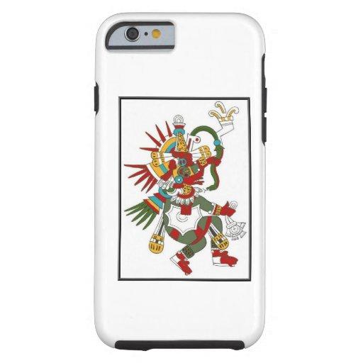 Iphone maya de Kukulcan de dios Funda De iPhone 6 Tough