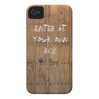 iPhone medieval de la puerta .45 caso iPhone 4 Case-Mate Cobertura
