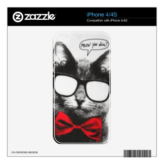 IPhone Meow Skin Skins For The iPhone 4