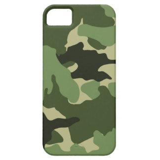 iPhone militar verde de Camo 5 casos de Barely iPhone 5 Carcasas