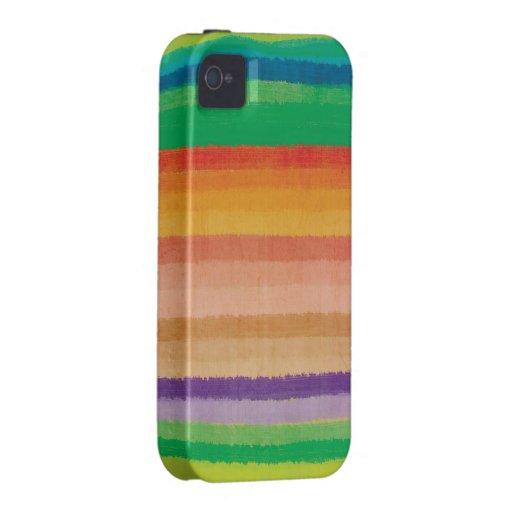 Iphone multicolor 4 del caso de MÉXICO del color iPhone 4 Funda