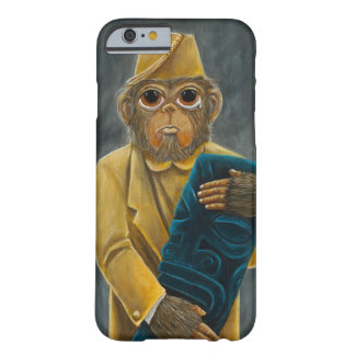 iPhone observado grande 6/6s del chimpancé Funda Barely There iPhone 6