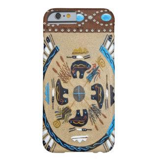 """iPhone occidental 6 Ca de Sandpainting del nativo Funda De iPhone 6 Barely There"