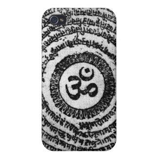 iphone, om mani padme hum, mantra, hindu iPhone 4 cases