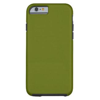 iPhone oscuro 6 del verde verde oliva duro Funda De iPhone 6 Tough