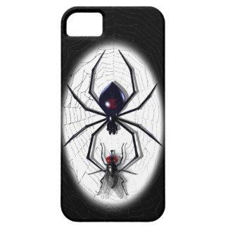 iPhone (oscuro) de la araña y de la mosca 5 casos iPhone 5 Fundas