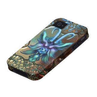 iPhone oscuro de la fantasía del Gargoyle del mito Vibe iPhone 4 Carcasas