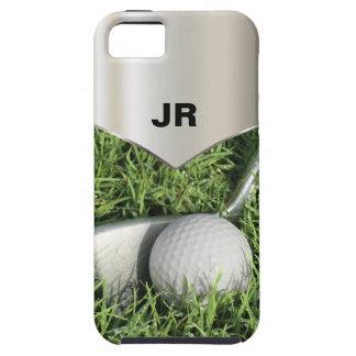 iPhone para hombre 5 casos duros del golf iPhone 5 Case-Mate Cárcasas