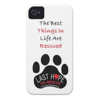 iPhone pasado 4 del rescate de la esperanza K9 las iPhone 4 Protectores