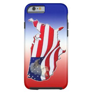 iPhone patriótico 6 Ca del caso del iPhone 6 de Funda De iPhone 6 Tough