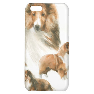iPhone pedigrí del collie del perro