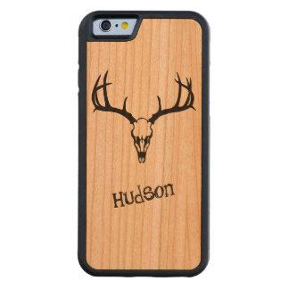 iPhone personalizado de madera del estante y del Funda De iPhone 6 Bumper Cerezo