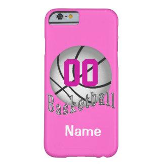 iPhone PERSONALIZADO del baloncesto 6 casos para Funda Para iPhone 6 Barely There
