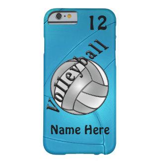 iPhone personalizado del voleibol 6 casos para Funda Para iPhone 6 Barely There
