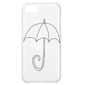 iPhone personalizado paraguas del día lluvioso 4 c