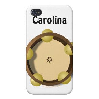 Iphone personalizado percusión 4 de la pandereta d iPhone 4 cárcasa