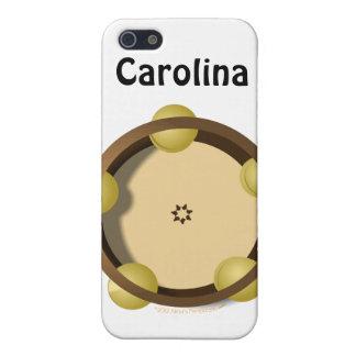Iphone personalizado percusión 4 de la pandereta d iPhone 5 cárcasas