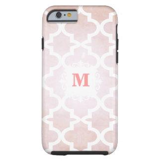 iPhone personalizado teja marroquí coralina ligera Funda Resistente iPhone 6
