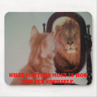 Iphone pics 129, What matters most is how you s... Mouse Pad