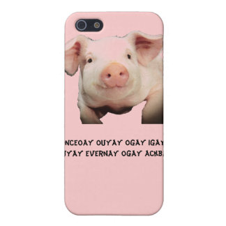 IPhone / Pig / Latin iPhone SE/5/5s Cover