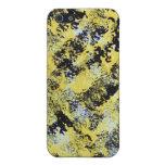 iPhone pintado amarillo y negro iPhone 5 Funda