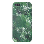 iPhone pintado verde iPhone 5 Protectores