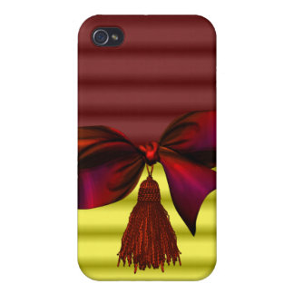 iphone pop art design with bow iPhone 4 cases