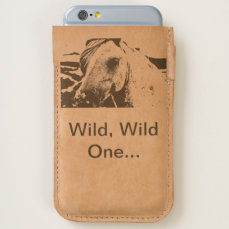 iPhone Pouch - Horse Head