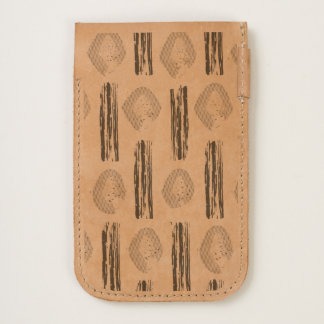 iPhone pouch with watercolor Original art