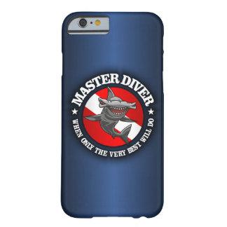 Iphone principal del buceador (Hammerhead) 6 casos Funda Para iPhone 6 Barely There