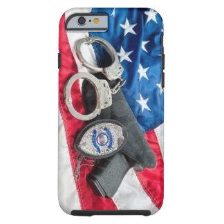 Iphone protege y sirve la caja de la policía