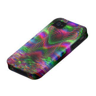 iPhone psicodélico 4 de la casamata de LoveHearts Case-Mate iPhone 4 Carcasas
