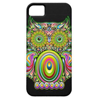 iPhone psicodélico de Popart del búho 5 casos iPhone 5 Case-Mate Fundas