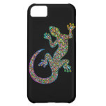 iPhone psicodélico del diseño del Gecko de Geck 5