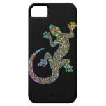 iPhone psicodélico del diseño del Gecko de Geck 5  iPhone 5 Case-Mate Cobertura
