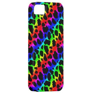 iPhone psicodélico enrrollado 5Case de la jirafa iPhone 5 Case-Mate Cárcasas