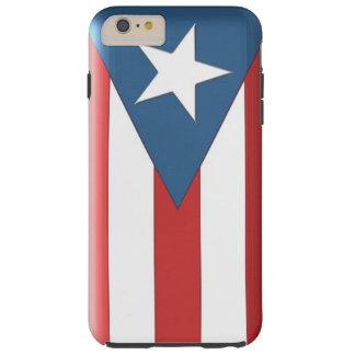 iPhone puertorriqueño 6 de la caja de la bandera Funda Para iPhone 6 Plus Tough