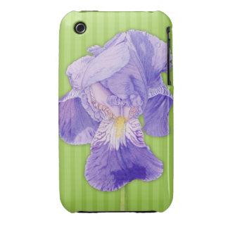 iPhone púrpura 3G/3GS apenas There™ del verde del  iPhone 3 Carcasa