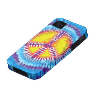 iPhone púrpura 4 de la casamata de la paz Vibe iPhone 4 Fundas