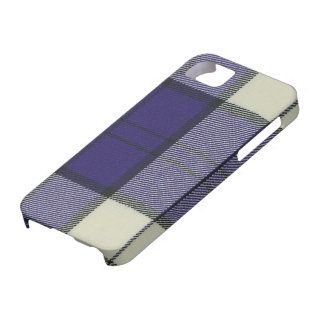 iPhone púrpura 5 C de la casamata del tartán del v iPhone 5 Case-Mate Coberturas