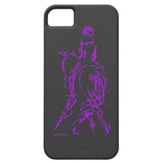 iPhone púrpura 5 del medio paso iPhone 5 Funda