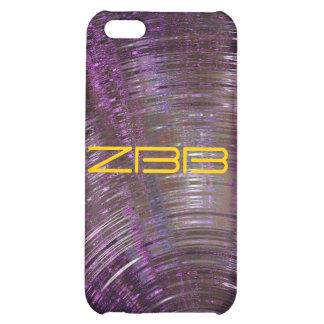 iPhone púrpura de resonancia de la mota 4 casos