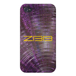 iPhone púrpura de resonancia de la mota 4 casos iPhone 4 Protector