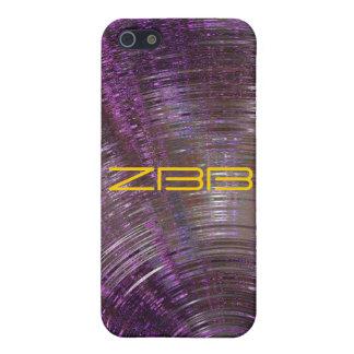 iPhone púrpura de resonancia de la mota 4 casos iPhone 5 Carcasa