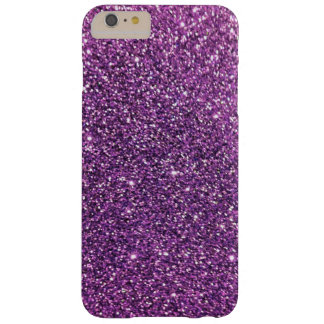 iPhone púrpura del brillo 6 casos más Funda De iPhone 6 Plus Barely There