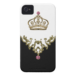 iPhone real de la reina 4 casos Case-Mate iPhone 4 Fundas