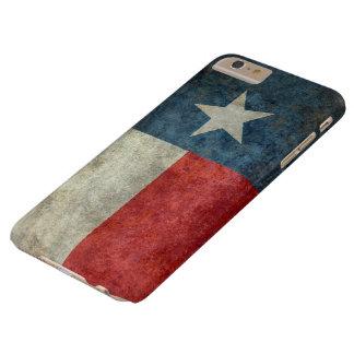 iPhone retro 6 del caso del vintage de la bandera Funda Para iPhone 6 Plus Barely There