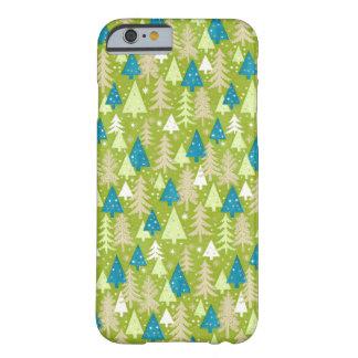 iPhone retro de los árboles de navidad el | 6 Funda Barely There iPhone 6